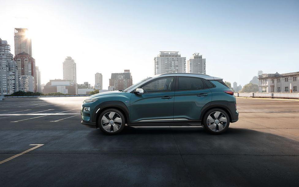 Hyundai Kona Elektroauto 2018