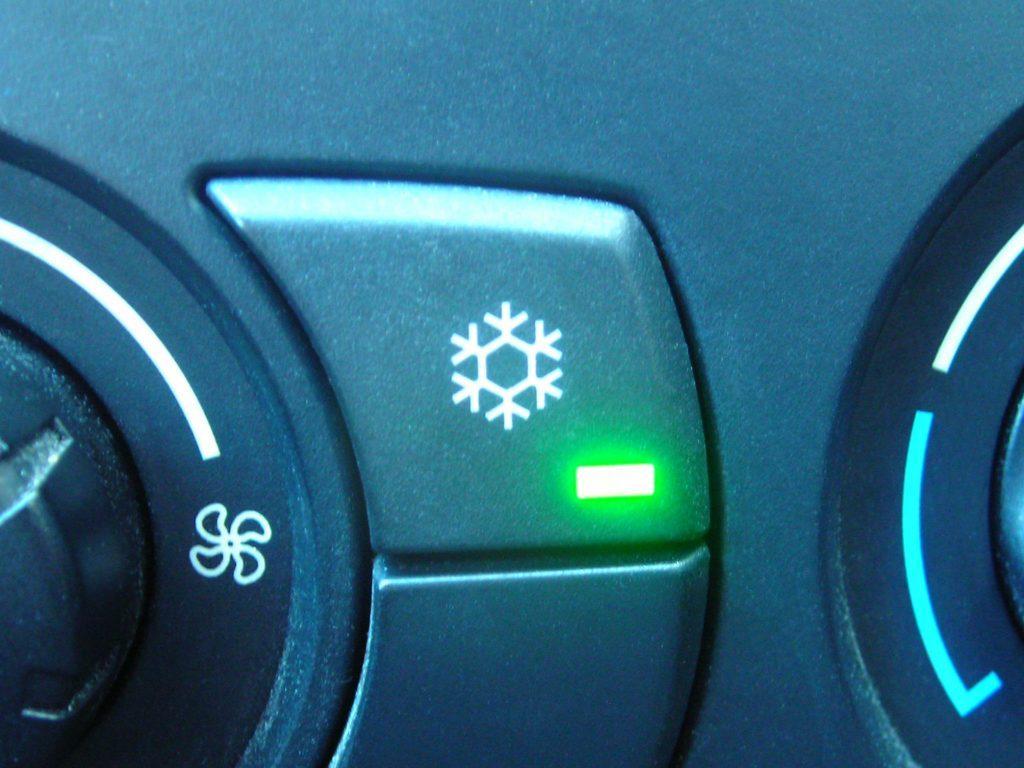 PKW Klimaanlage Schaltersymbol