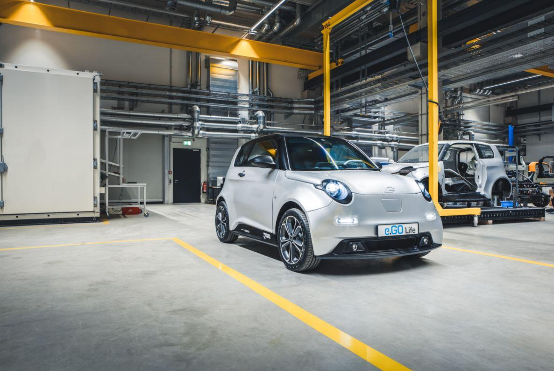 Deutscher E-Auto-Hersteller e.GO will seine Produktion verdoppeln