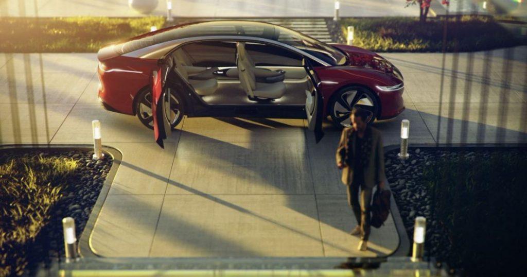 VW I.D. Vizzion Elektroauto Konzept 2018