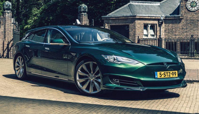 Niederländer bauen Tesla Model S als Shooting-Brake-Variante