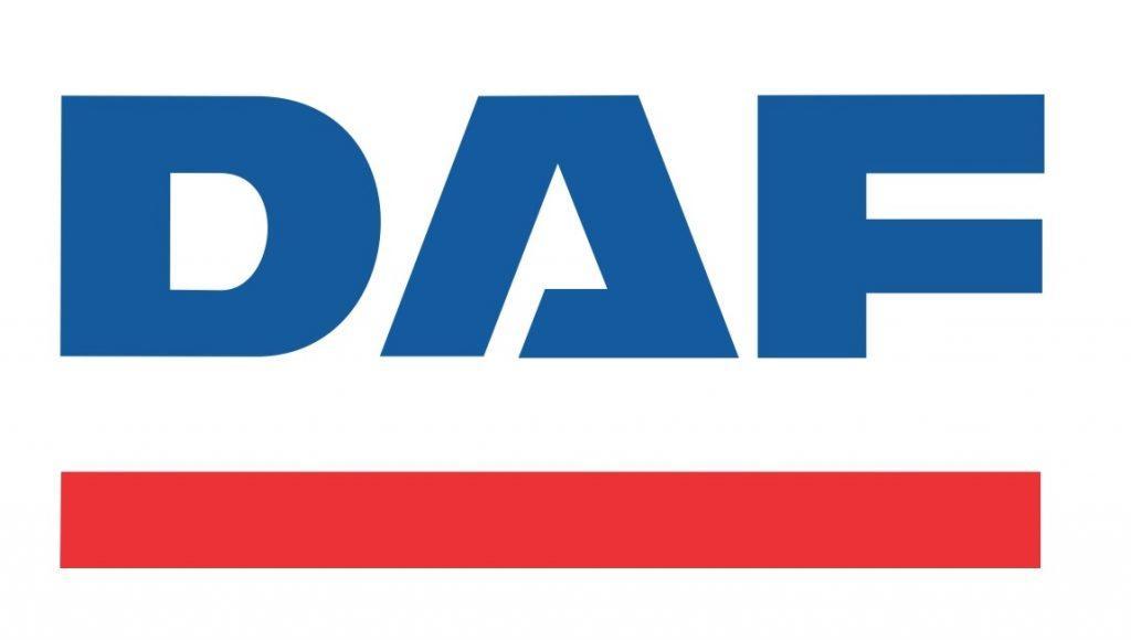 Logo des niederländischen E-LKW-Herstellers DAF