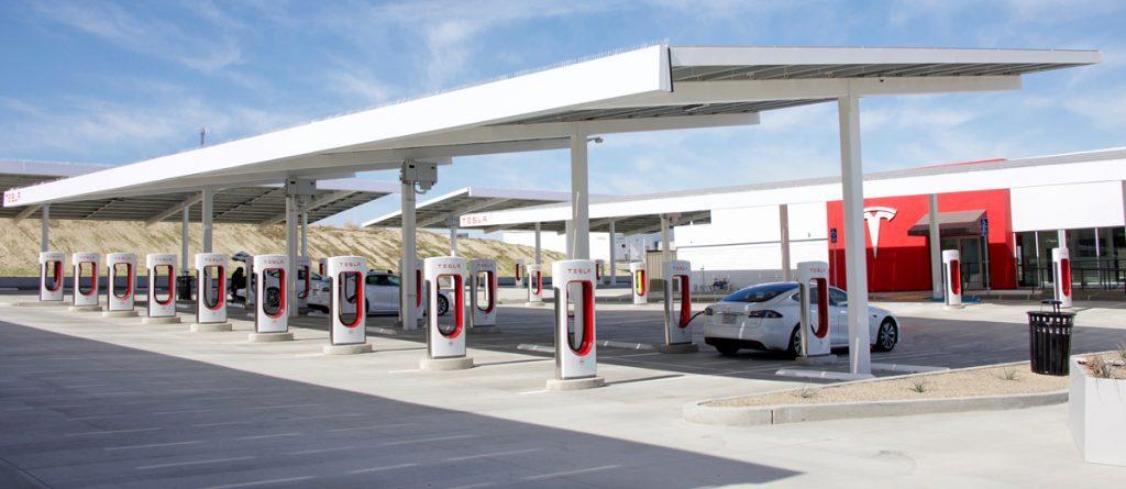 Elektrotankstelle für Elektroautos