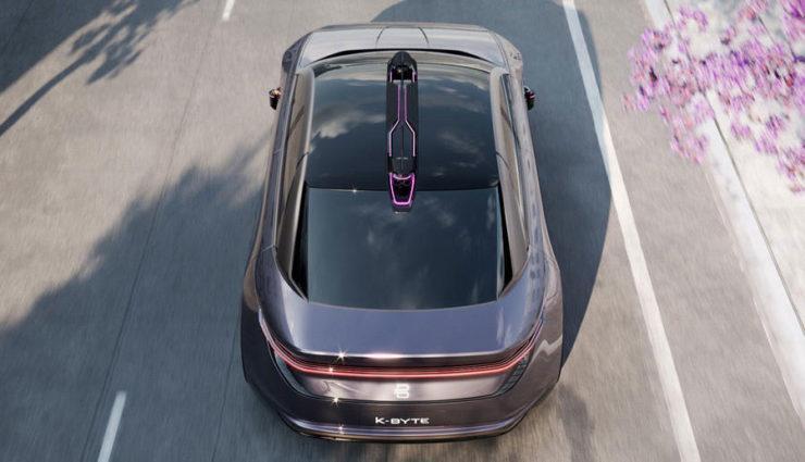 Byton enthüllt mit dem K-Byte sein zweites Elektroauto