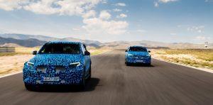 Premiere des Mercedes EQC kommt dem Audi e-tron zuvor