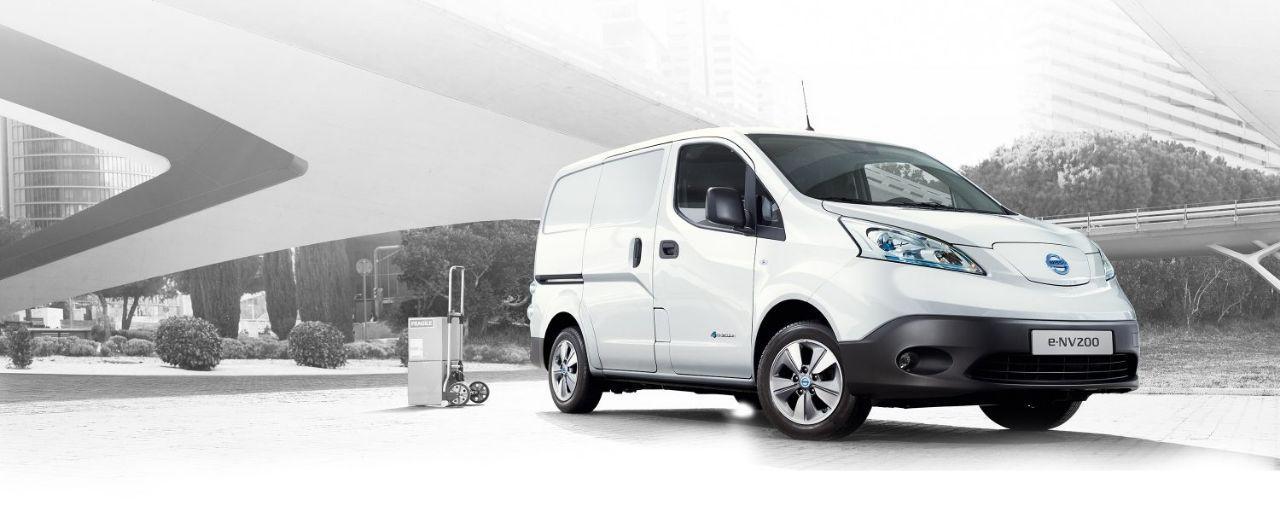 Nissan setzt in Europa künftig nur noch auf E-Version des NV200