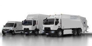 Renault Trucks stellt neues elektrifiziertes Trio vor