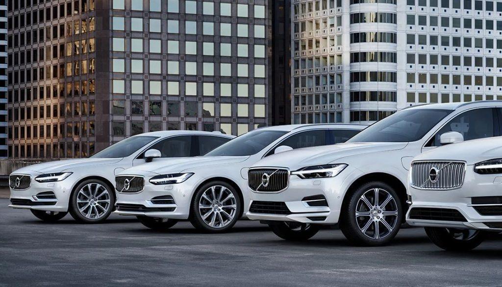 Volvo Fahrzeug Flotte