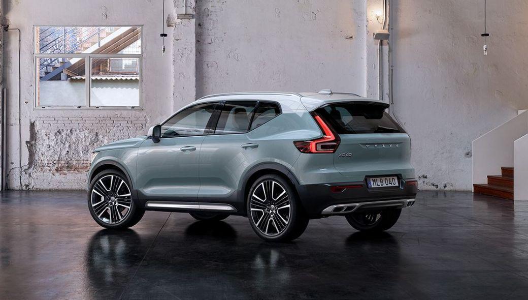 Der XC40 läutet die Volvo Elektromobilitäts-Offensive ein