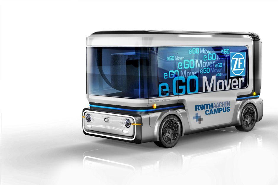 e.GO Mover: Innovativer Elektro-Kleinbus geht 2019 in Serie