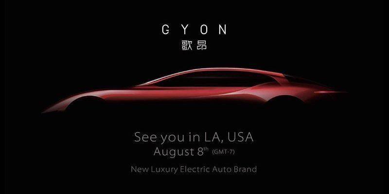 Gyon: Neues Startup aus China teasert erstes Elektroauto an
