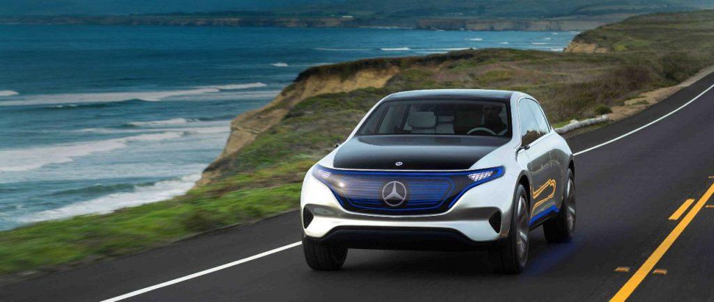Mercedes Benz EQC Elektroauto