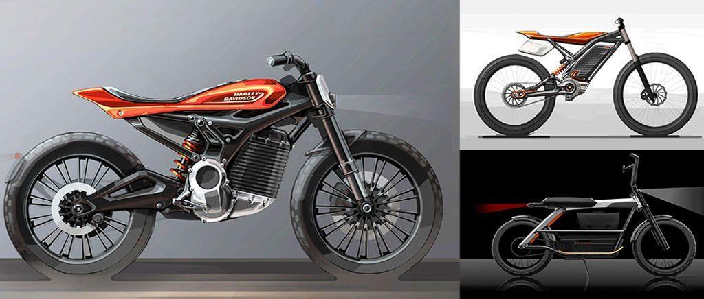 Neue Harley Davidson Elektro Zweiräder