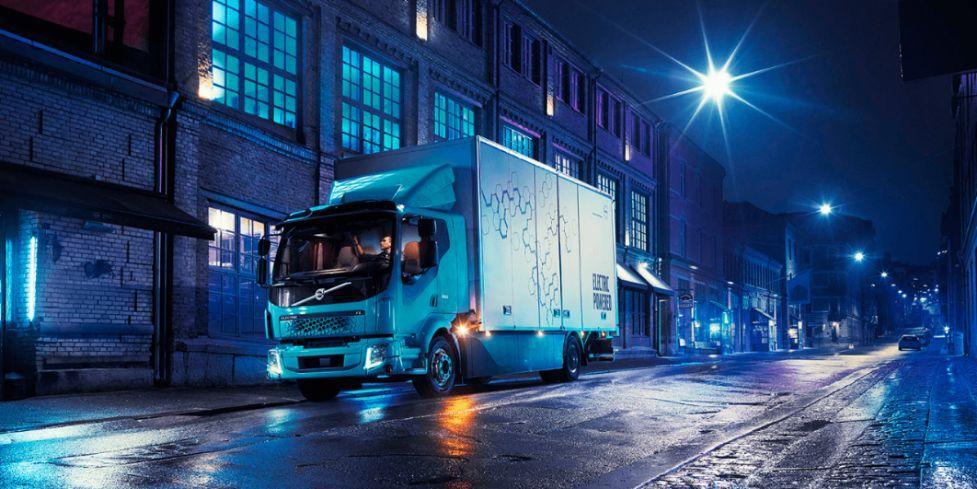 Volvo FL Electric Elektro LKW