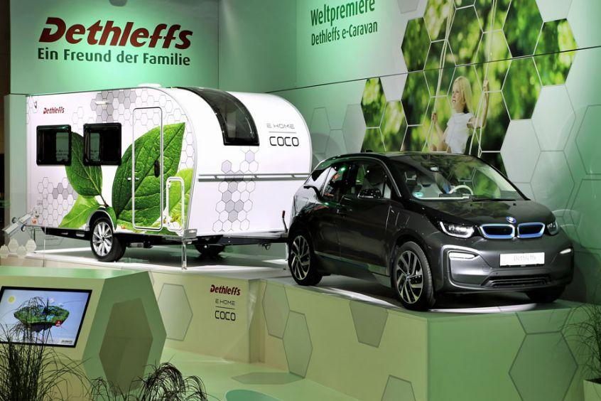 Dethleffs e.home coco Elektro Caravan_1