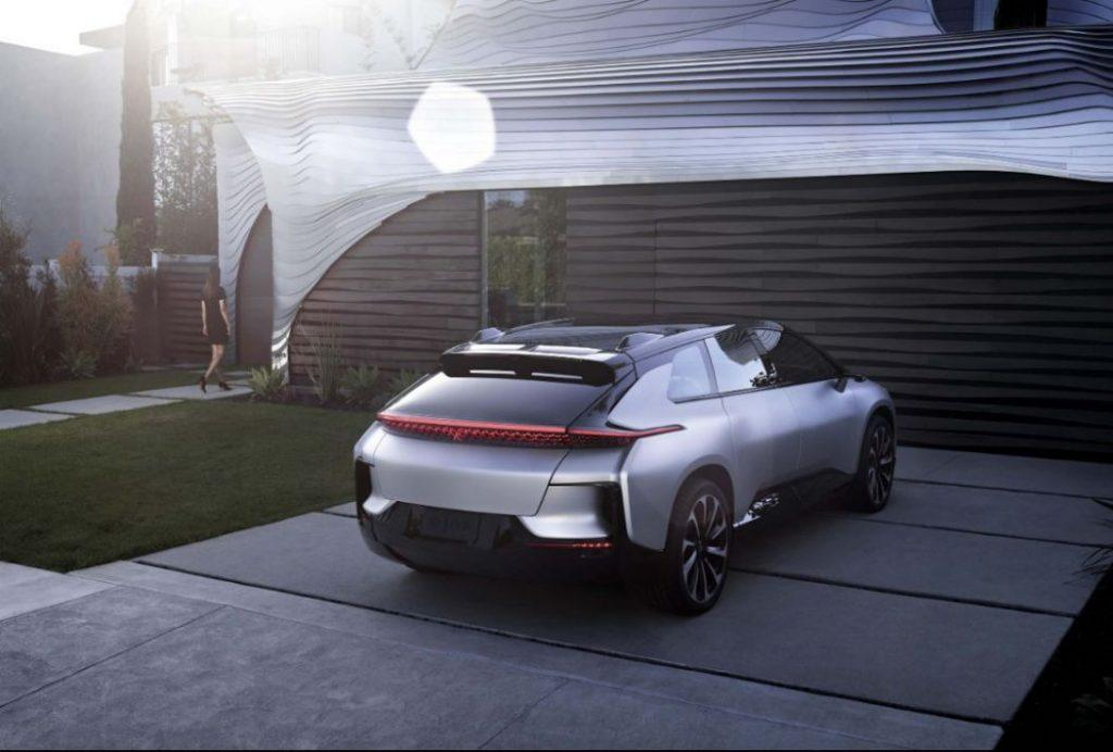 Faraday Future FF 91 Elektroauto