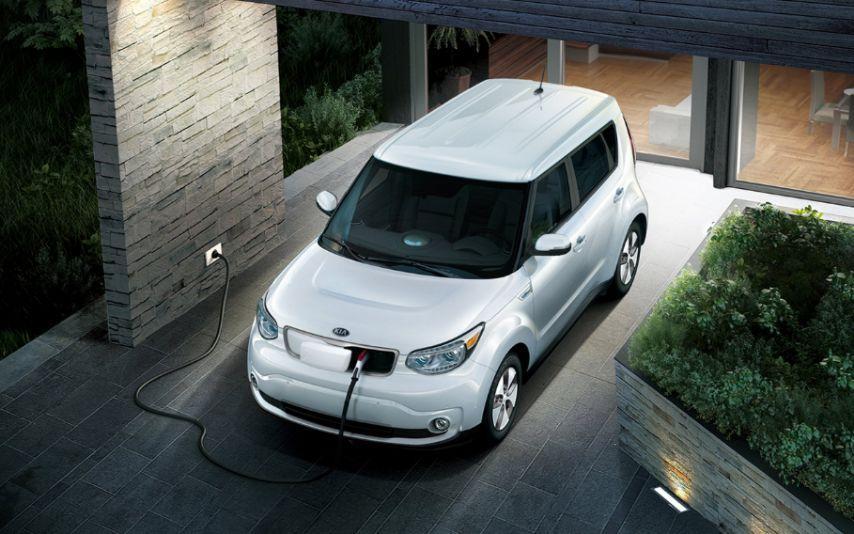 Kia Homecharging Elektroauto