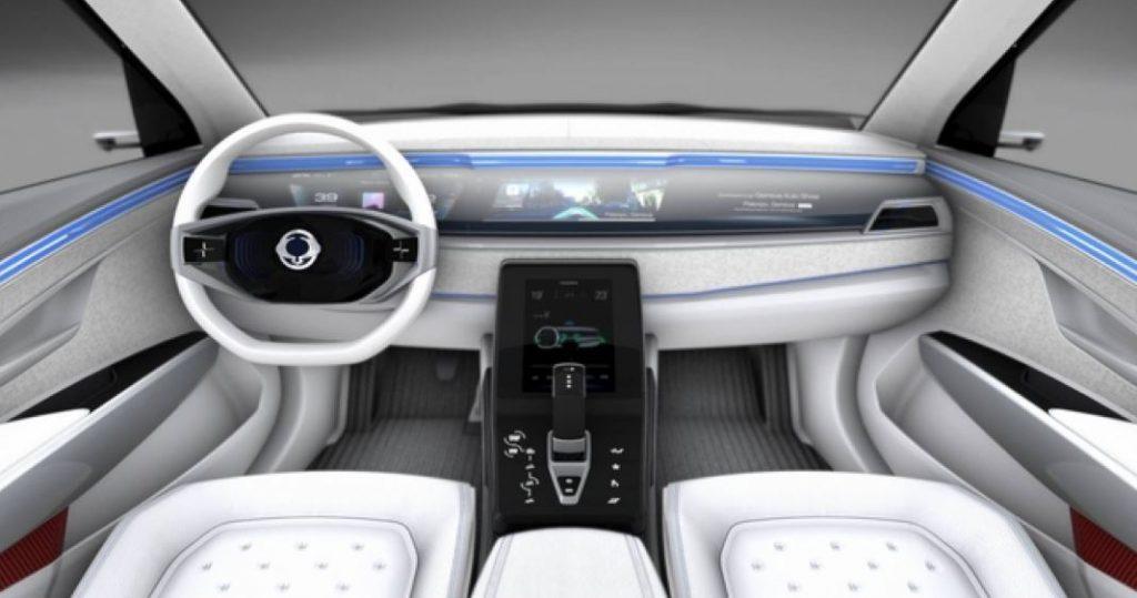 Ssangyong Korando Elektroauto Konzept_1