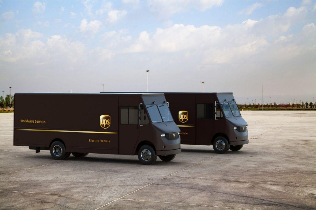 Startup Thor Trucks lässt E-Transporter von UPS testen