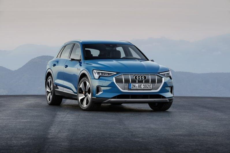 Lang erwarteter Audi e-tron in San Francisco präsentiert