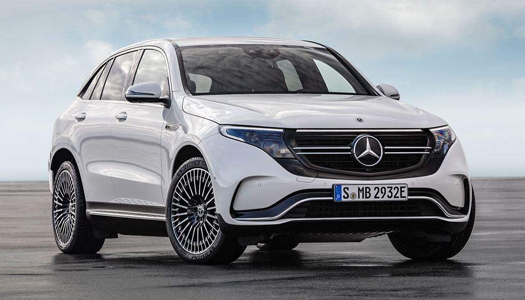 Mercedes Benz EQC in Stockholm offiziell enthüllt