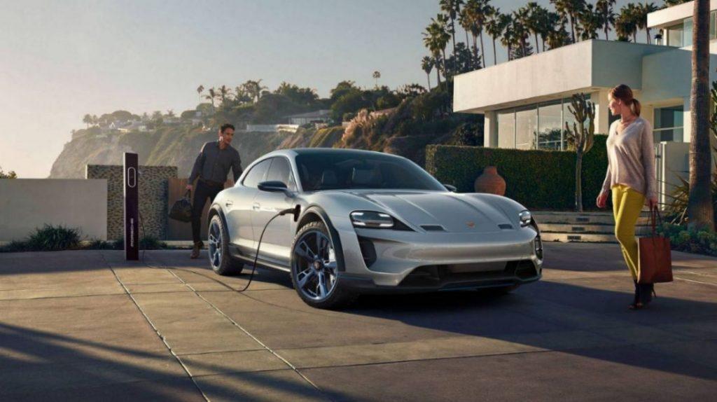 Porsche Taycan Elektroauto
