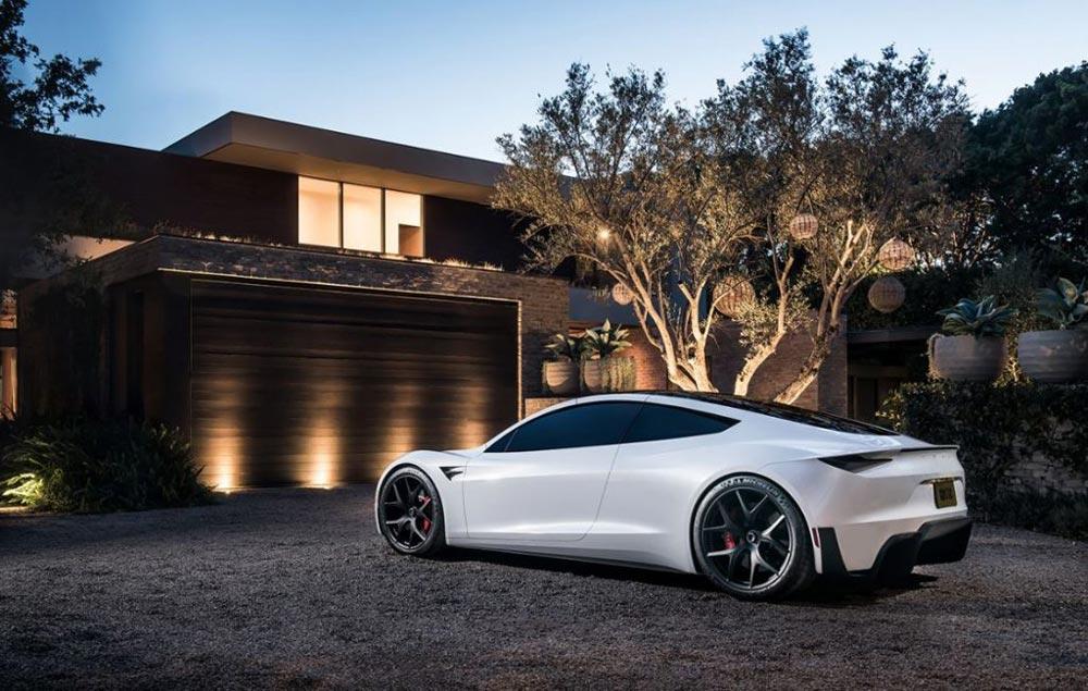 Tesla Roadster 2020 Elektroauto