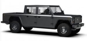 Elektrifiziertes Kraftpaket: Bollinger Motors zeigt neues Pickup B2