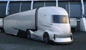 Aerodynamisch und autonom: Ford zeigt F-Vision als Lkw-Studie