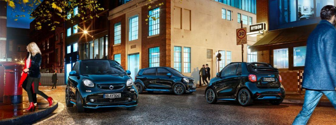 Smart EQ fortwo und Smart EQ forfour Elektroautos