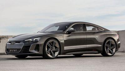 Audi öffnet den Vorhang für den e-tron Gran Turismo