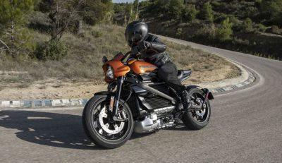 Harley Davidson gibt einen Vorgeschmack auf E-Motorrad Live Wire