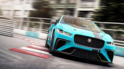 Neue Rennserie mit E-Autos: Jaguar E-Trophy vor dem Start