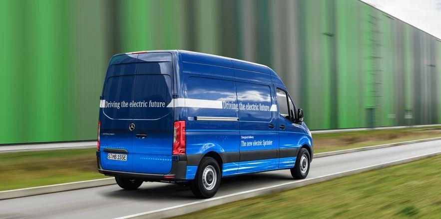 Mercedes E-Sprinter Elektro Transporter_1