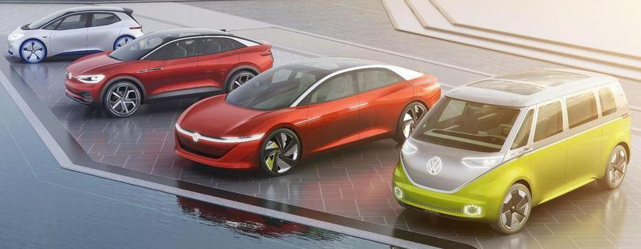 VW Elektroauto Fahrzeuge