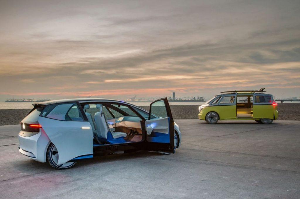 VW ID Elektroautos