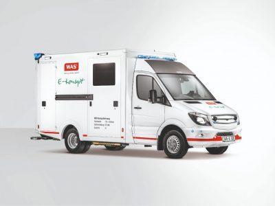 Zwei badische Unternehmen entwickeln elektrische Rettungswagen