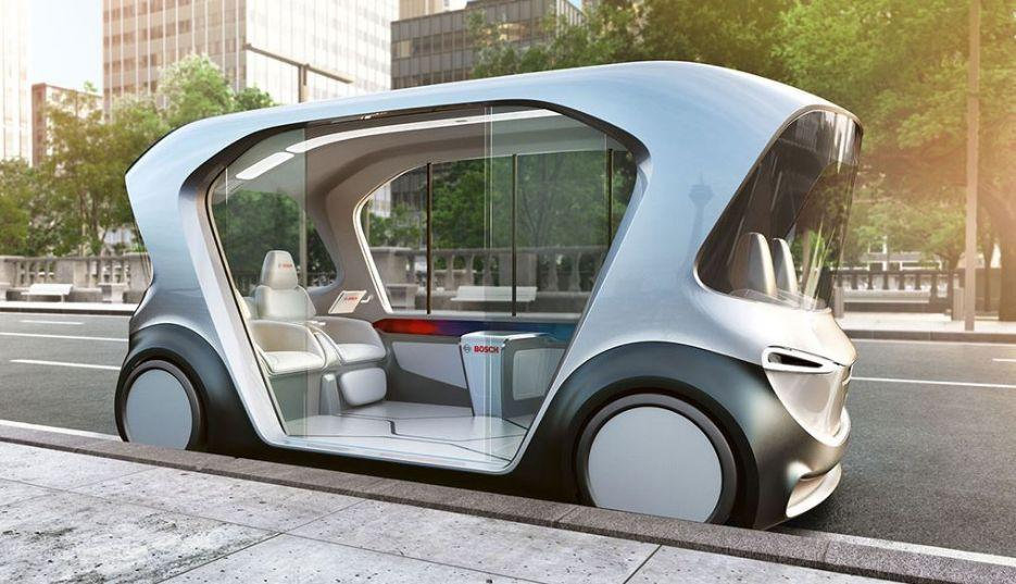 Zulieferer Bosch bringt autonomes E-Shuttle mit zur CES 2019