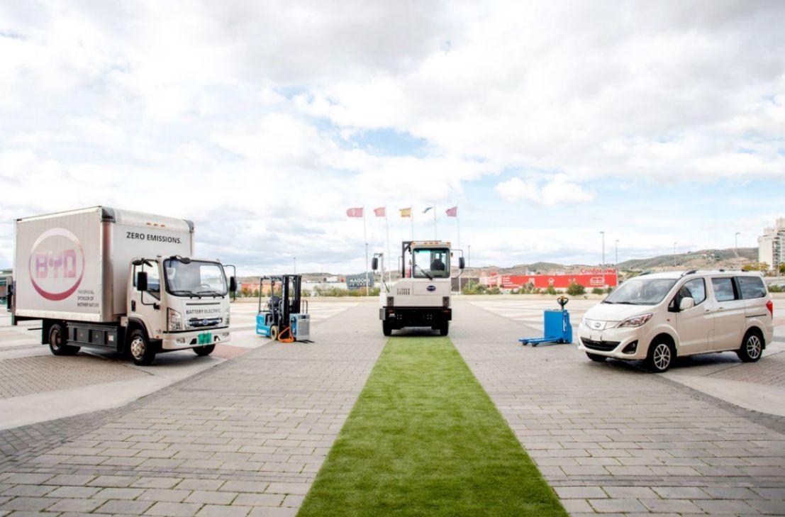 Chinesische Marke BYD bringt Nutzfahrzeuge-Trio nach Europa