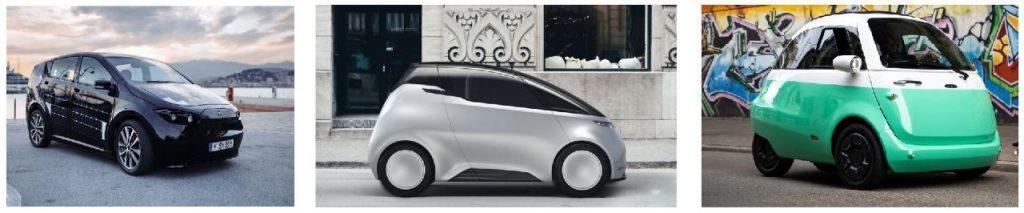 Elektroautos Kleinwagen 2019
