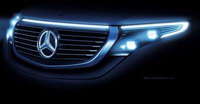 Mercedes Benz bereitet kompaktes SUV mit elektrischem Antrieb vor