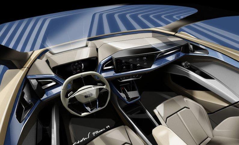 Audi Q4 e-tron Elektroauto Studie_1