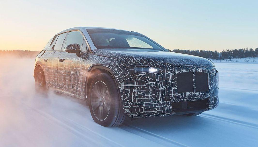 Die Zukunft von BMW fährt am Polarkreis – iNext aktuell im Härtetest
