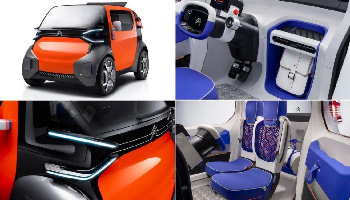Citroen Ami One Concept Elektroauto_2