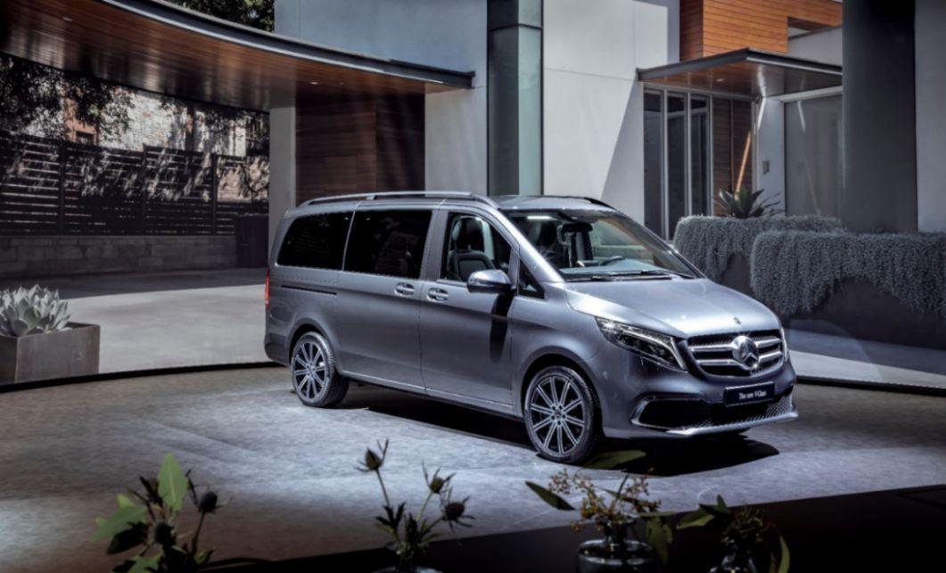 Mercedes Benz plant mit dem EQV elektrifizierte Version der V-Klasse