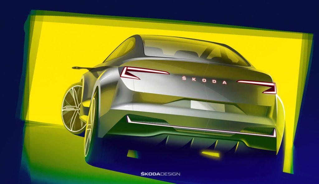 Skoda Vision iV Elektroauto_1