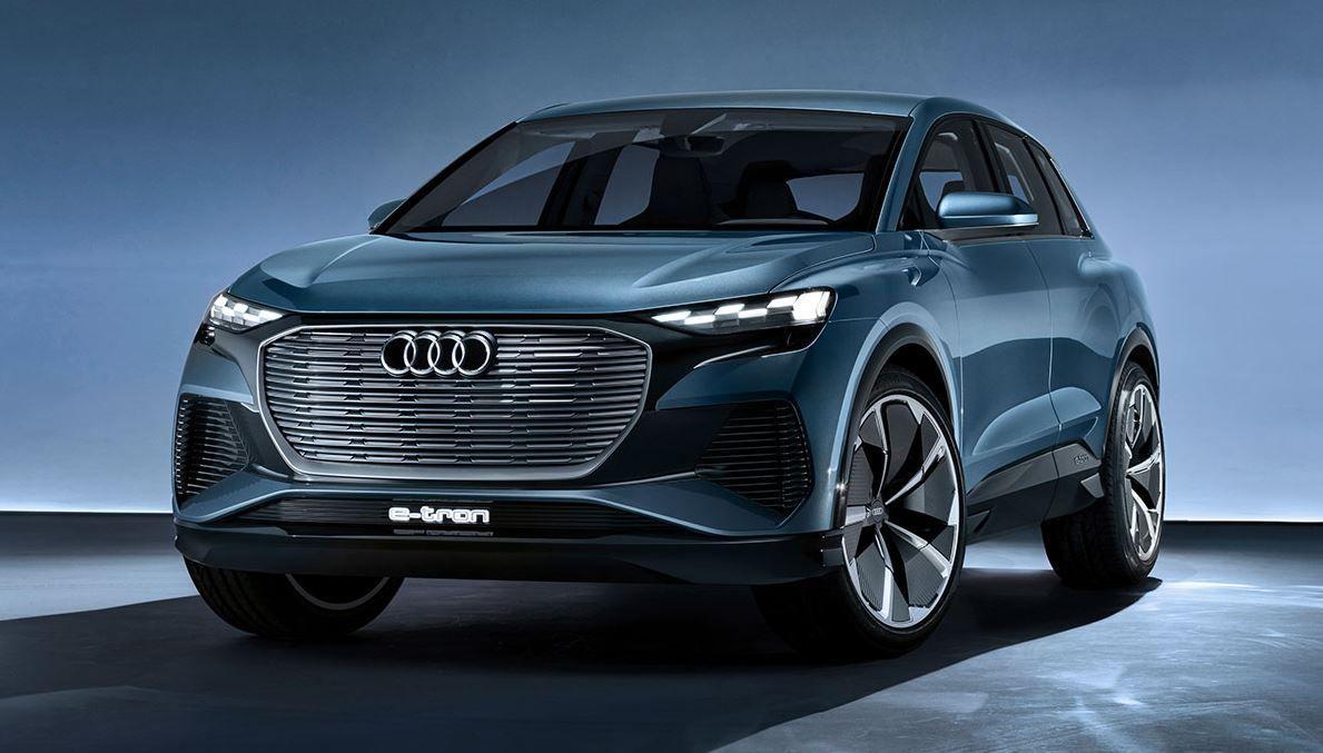 Audi Q4 e-tron concept feiert Premiere