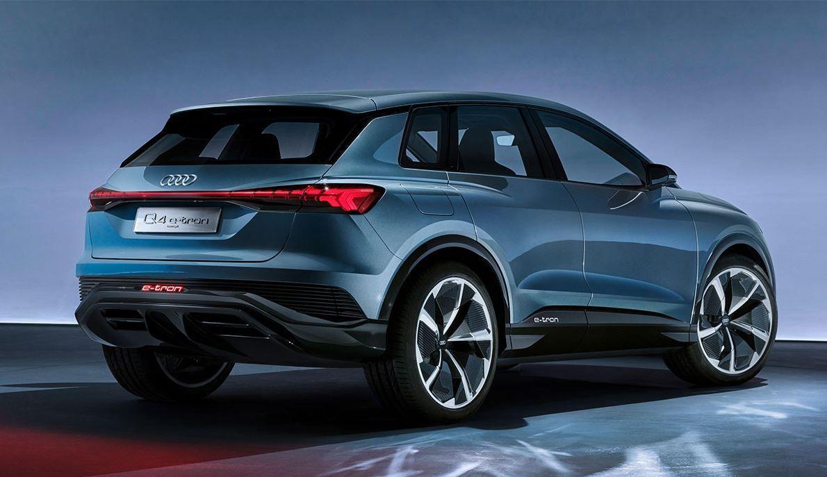 Audi e-tron Q4 Concept Elektroauto_1