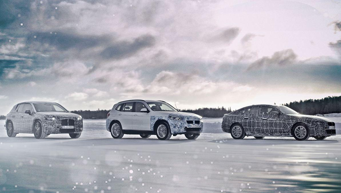 iNEXT und Co, Kooperation mit Daimler: Elektrifizierungspläne von BMW