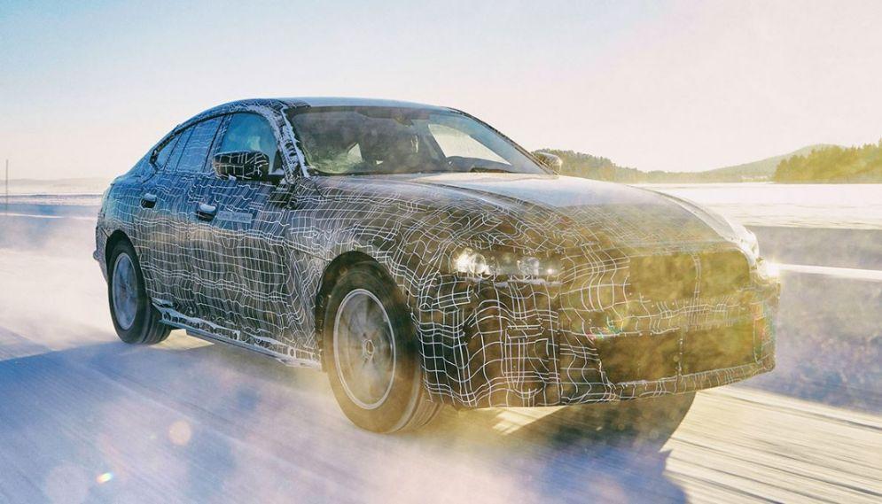 BMW i4 Elektroauto